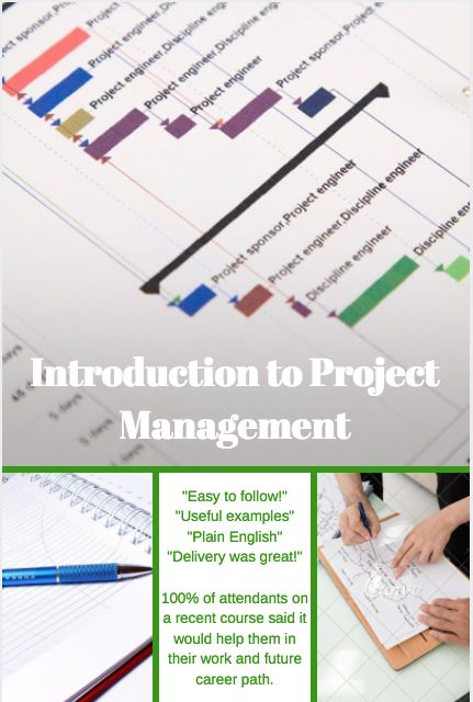 Our one day short course in project management with Green Labyrinth provides the  ideal introduction - receive feedback from previous attendants.