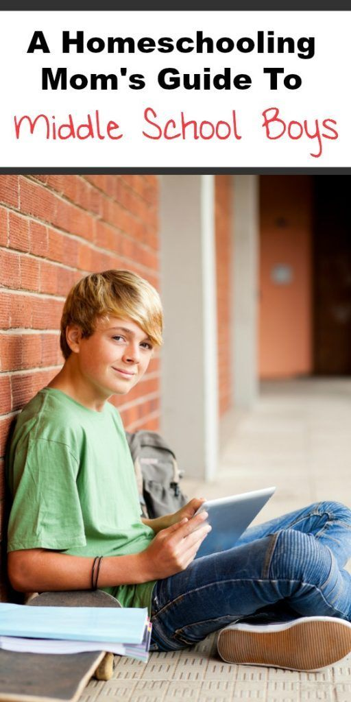 Simple tips for homeschooling middle school boys! Middle School Homeschooling…