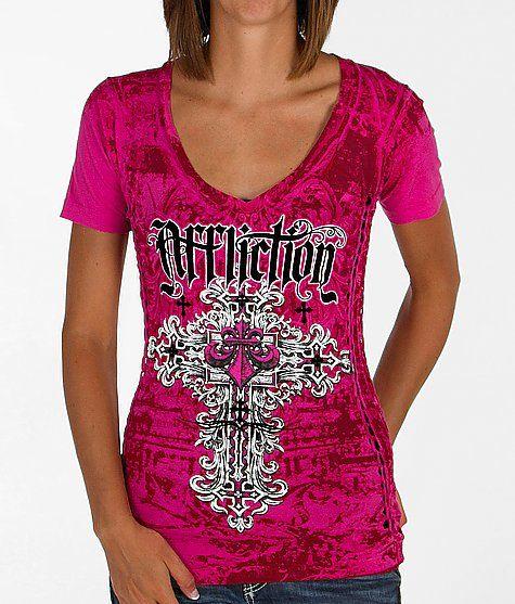 Affliction Kelsey V-Neck T-Shirt