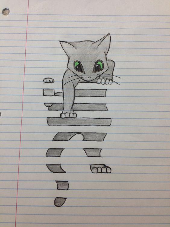 Illusion einer Katze – Celina Bredenhagen