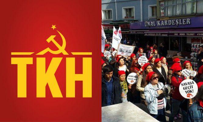 TKH'den 8 Mart açıklaması: Kadınlar, saltanat sevdalılarına karşı mücadeleyi yükseltmeli!
