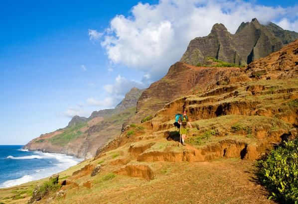 Kalalau Trail, Kauai, Hawaii | When to go : May to September for drier weather in April or October ...