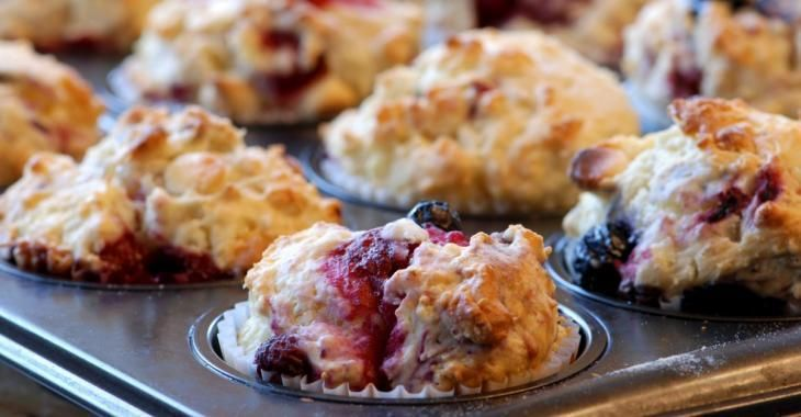 Petits fruits et sirop d'érable...Un muffin irrésistiblement délicieux!