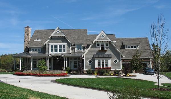 exterior houses |  heartwood custom home, the summit, via