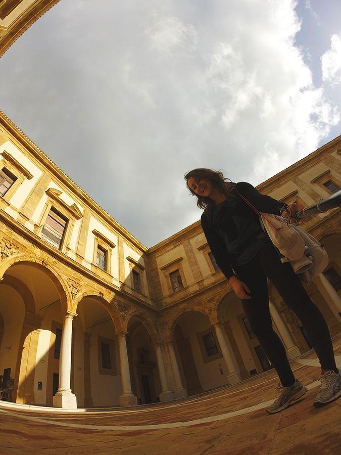 Chiara Magi - Sicilian Vibes - In the Jesuit College in Mazara del Vallo