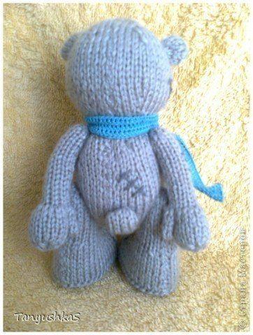 Как связать Мишку Тедди — вязание спицами, описание схемы
