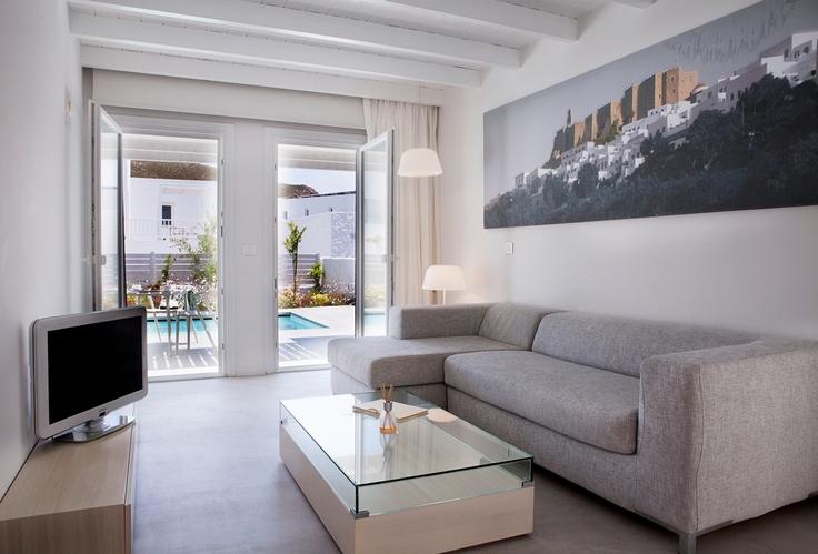 Enjoy Patmos Aktis Suites & Spa by the pool... #patmos #Greece #summer #pool