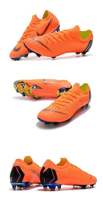 Nike World Cup 2018 Mercurial Vapor XII FG Boots - Orange Black ... ba5126540d5b3