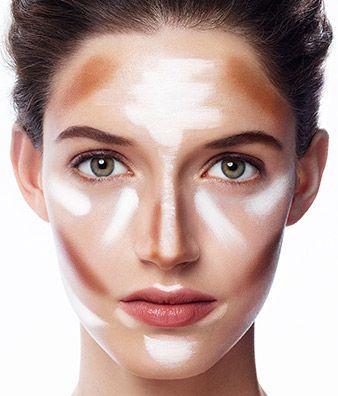 Best Contouring Makeup for an Oval Shaped Face! | Sephora #contorno #iluminación #maquillaje