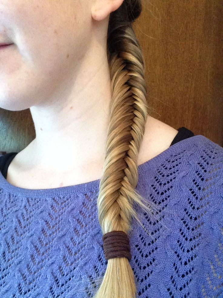 Inverted Fish Tail Braid