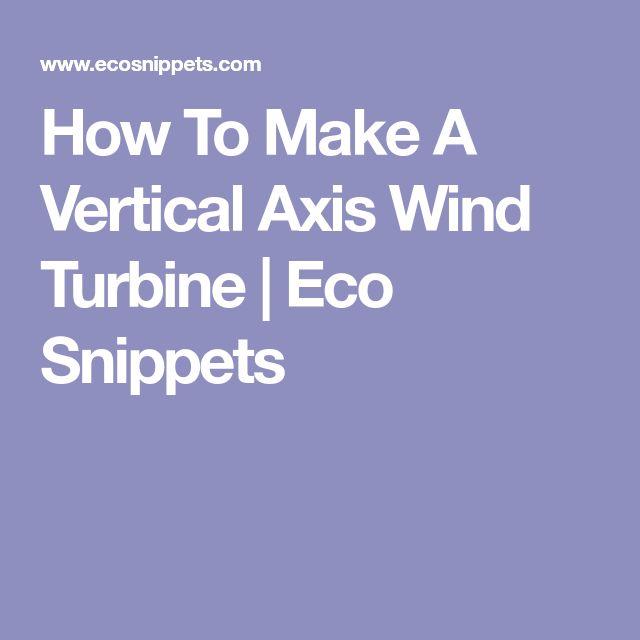 how to make wind turbine youtube