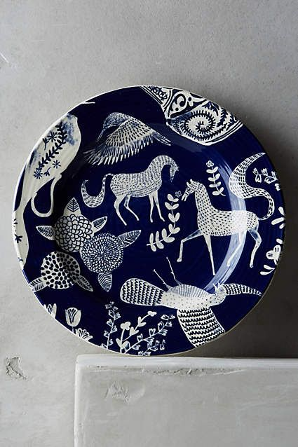Saga Side Plate - anthropologie.com