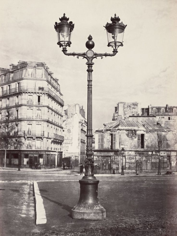 Avenue de la Bourbonnais 1868