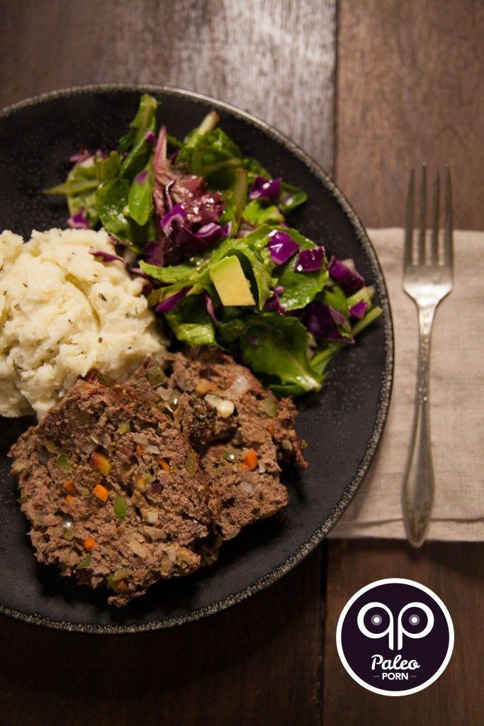 Paleo Meatloaf with Liver