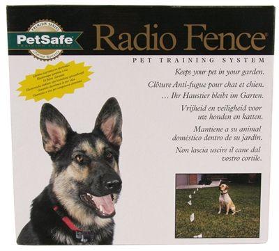 Petsafe prf-3004w-20 inground fence omheining met draad voor honden  de radio fence is een onzichtbare omheining die ervoor zorgt dat de hond of kat de tuin niet uit kan. zonder dat er daarvoor hele hekwerken of muren geplaatst hoeven worden.middels een antennedraad dat een signaal afgeeft aan de ontvanger aan de halsband van de hond of kat. wordt een veilige zone gecreëerd waarbinnen uw huisdier zich vrij kan bewegen. wanneer hij echter te dicht de grens nadert die hij niet mag…
