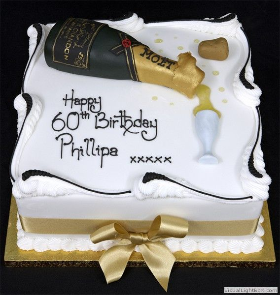 Images Of Birthday Cake And Champagne : 64 best Champagne cake images on Pinterest