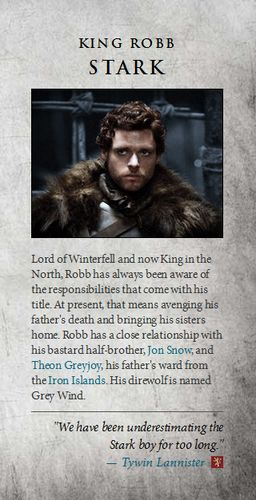 Robb Stark wallpaper in The Game of Thrones Club
