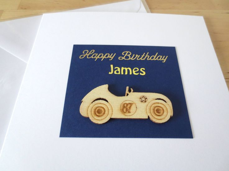 Personalised Birthday card for him,  Birthday card for  him, Personalised Fathers Day card, Father's Day, fathers day, First, 1st father day by FyneHandmadeCards on Etsy