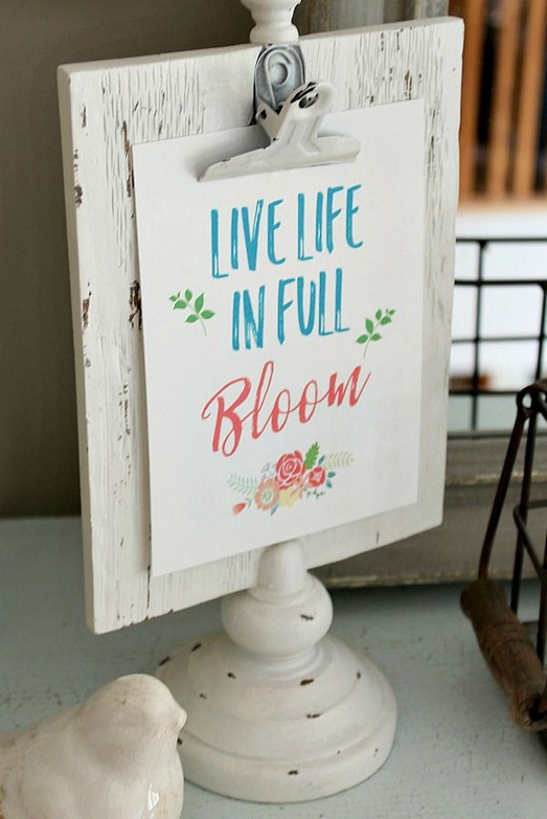 Sweet Spring Prints for the Home 4