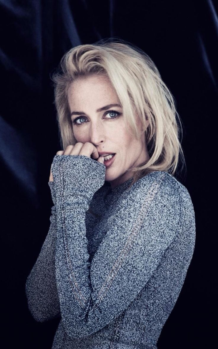 Gillian Anderson, The Telegraph UK, Photo by Jenny Hands