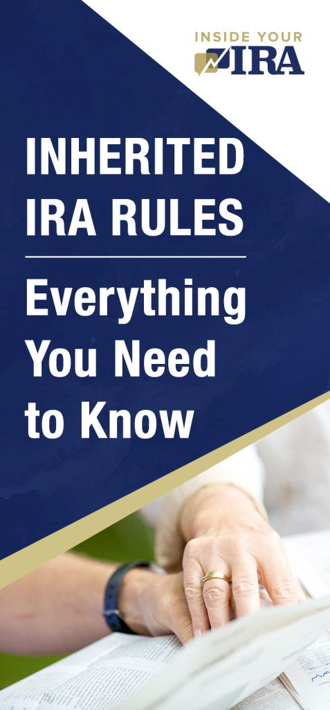 Inherited IRA Rules: Everything You Need to Know | Here's how you can set up an Inherited IRA! | https://insideyourira.com/inherited-ira-rules/?utm_source=pin