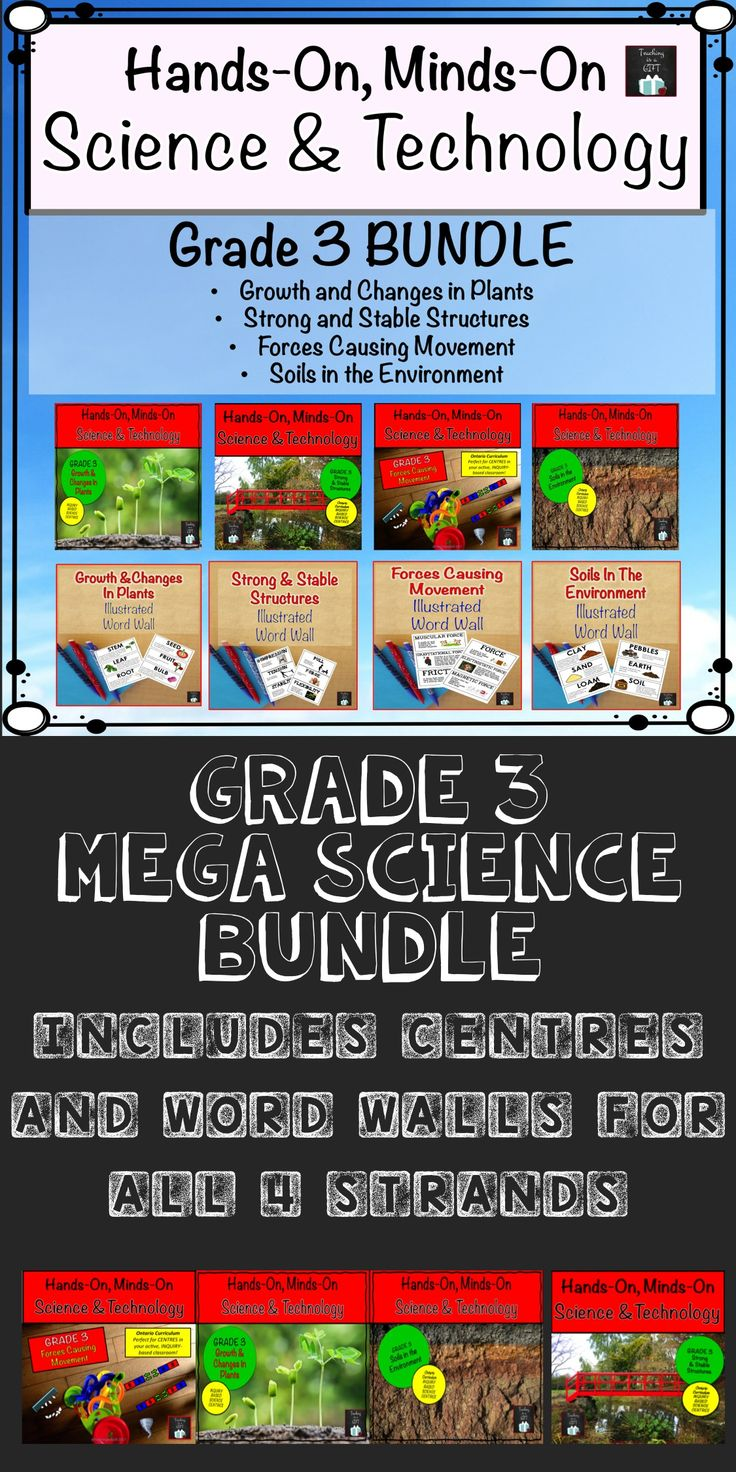 Grade 3 Science and Technology Ontario. Hands-on Minds-On Centres and Illustrate... 2