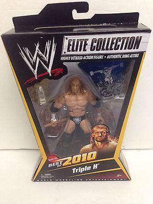 WWE Triple H Best Of 2010 Elite Collection Mattel Legends Defining Moments New