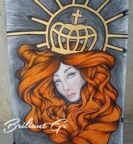 CROWNED by BriliantGr on Etsy