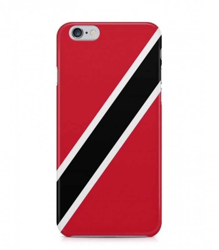 Trinidadian or Tobagonian Flag 3D Iphone Case for Iphone 3G/4/4g/4s/5/5s/6/6s/6s Plus - FLAG-TT - FavCases