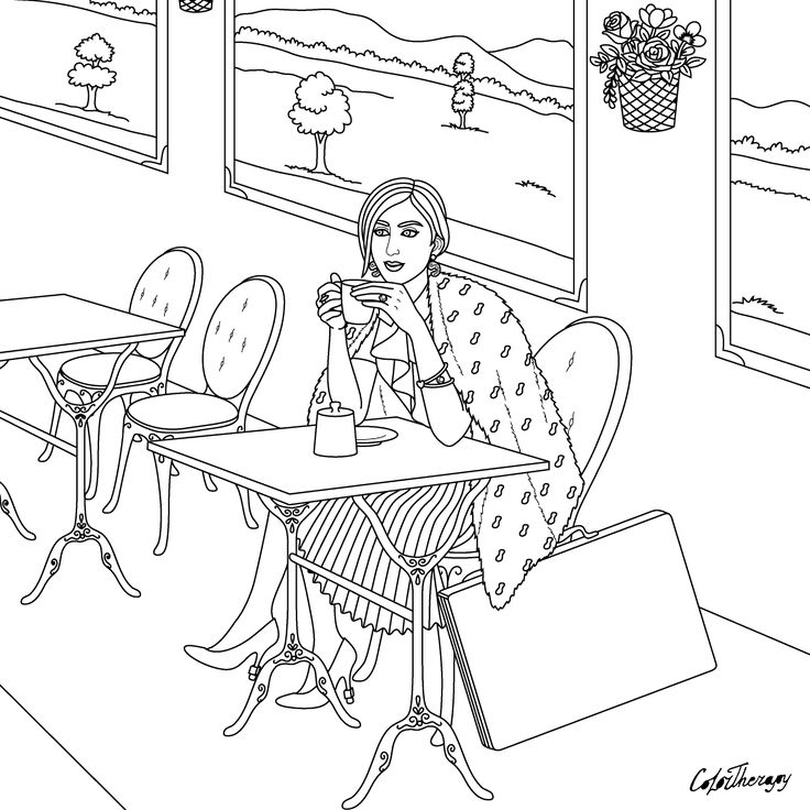 Pin by Color Therapy App on Color Therapy Coloring Pages ...