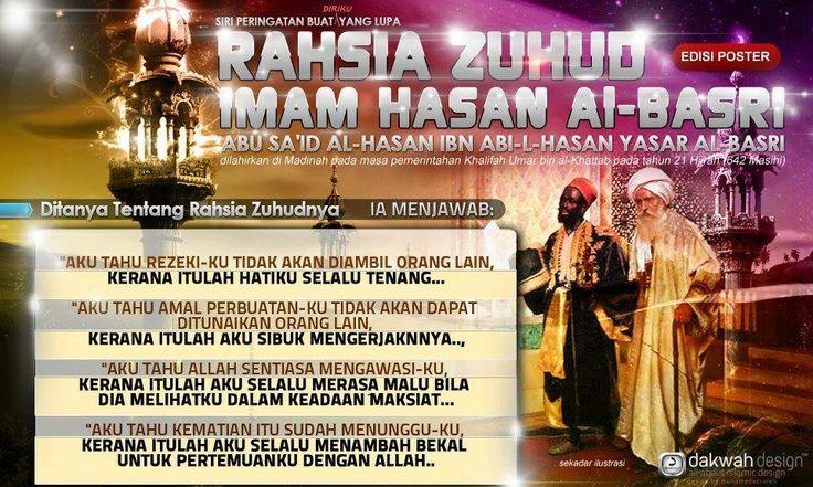 4 Rahsia Zuhud Imam Hassan Al-Basri