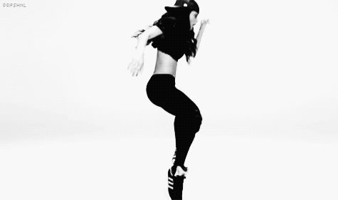 """Pin for Later: 22 of Ciara's Dance Moves That You Should Definitely Try at Home The """"Modified Michael Jackson"""" Tiptoe Twist"""