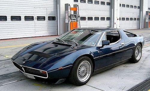 Maserati Merak on BBS RS
