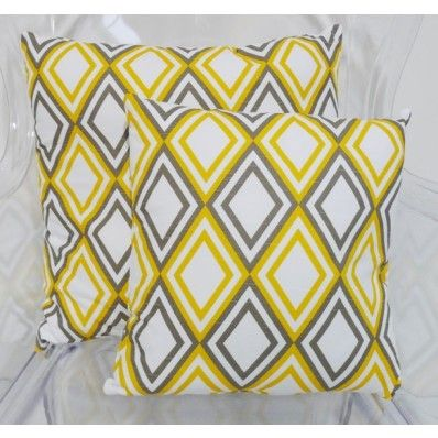 Mellow Yellow Cushion - Large