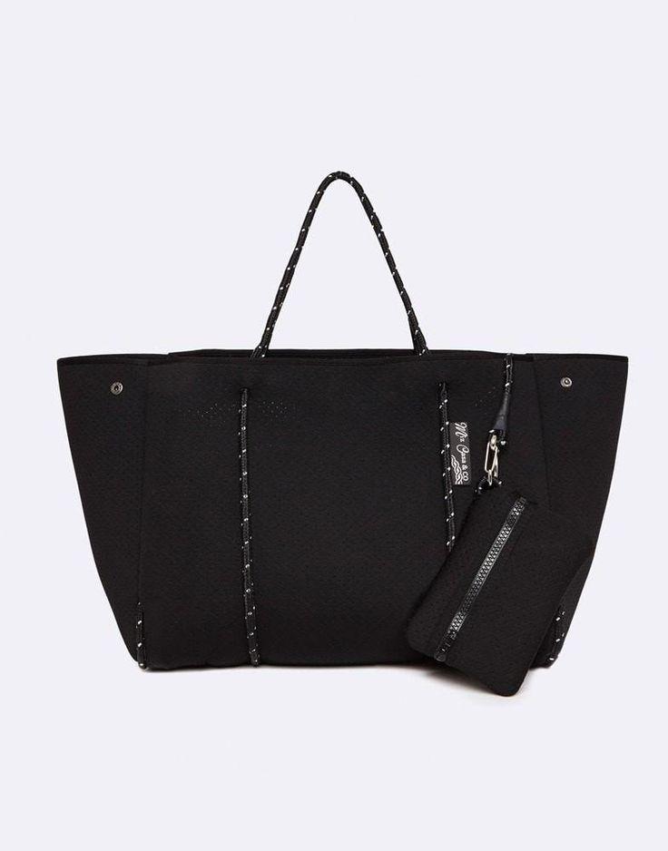MIZ CASA & CO SAMMY TOTE BAG BLACK