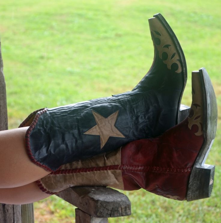 Old Gringo cowboy boots. Spirit of Texas.