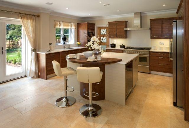 Wood And White Home Decor Pinterest Kitchen Island