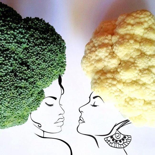 Gündelik Eşyalar ve Yiyecekler ile Oluşturulmuş Birbirinden Yaratıcı 20+ Çalışma Sanatlı Bi Blog 17
