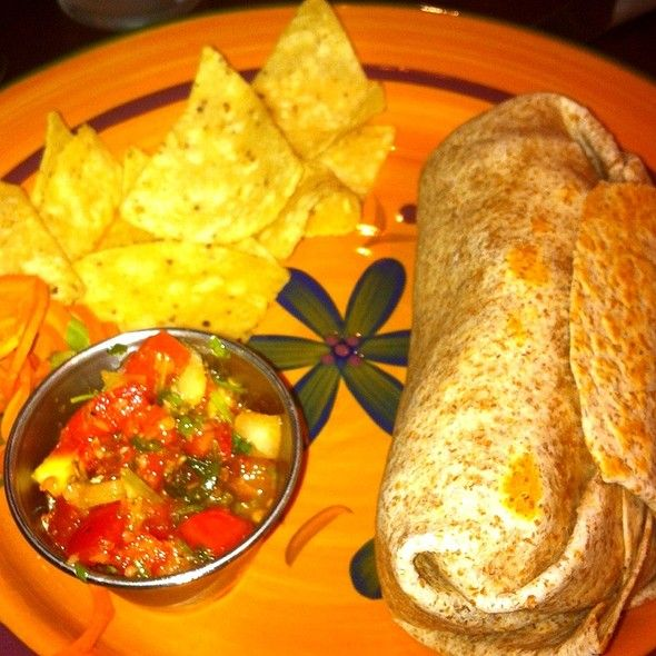 Jerk Chicken Burrito