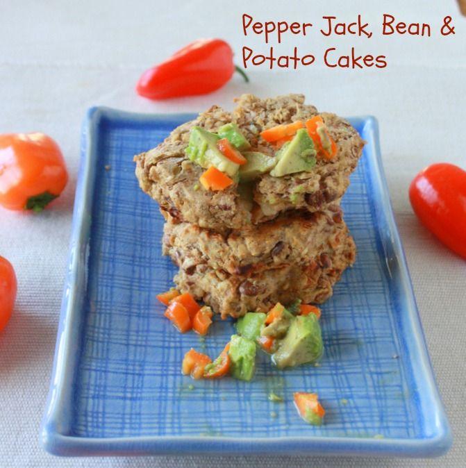 ... Potato Cakes -Pepper Jack, Bean & Potato Cakes - Teaspoon of Spice