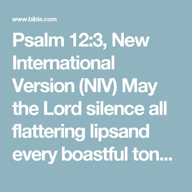 Psalm 123 New International Version NIV May The Lord Silence All