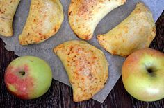 MY FOOD или проверено Лизой: Яблочные пирожки из сырного теста (Для яблочного флешмоба)