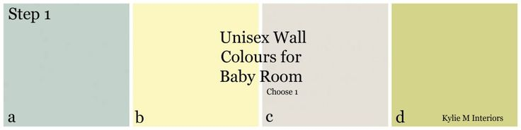 best benjamin moore gender neutral paint wall colours for baby's nursery room boy or girl