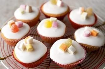 Mary Berry's iced fairy cakes - Fun school holiday bakes to make with the kids