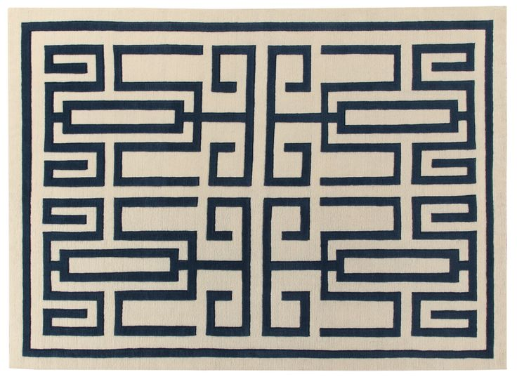 Labirinto Rug Gio Ponti Carpet Collection Handknotted in Nepal by AMINI Tibetan Wool  250x300cm