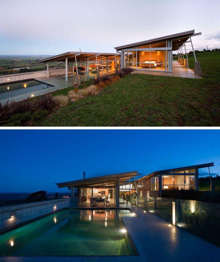 Modern Slope House Design: Best 25+ Modern Roof Design Ideas On Pinterest
