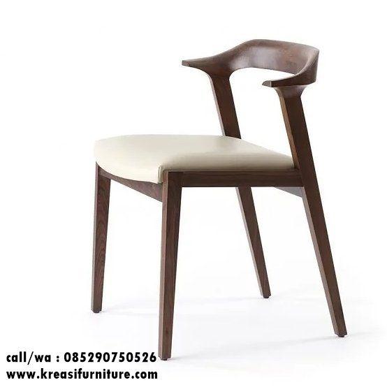 Kursi Cafe Jati Jok Oscar merupakan kursi cafe dengan desain minimalis modern bergaya anak muda sekali cocok untuk mengisi interior cafe anda.