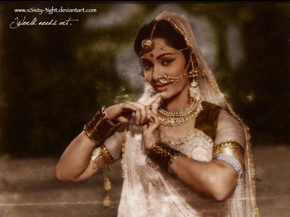 Waheeda Rehman by xSixty-3ight.deviantart.com on @deviantART