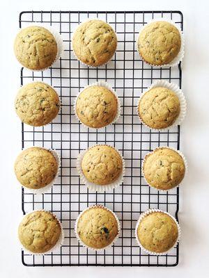 Skinny Bluechai Tea Muffins — The Skinny Fork