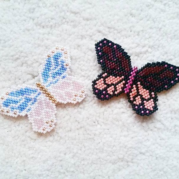 Brick Stitch Butterfly